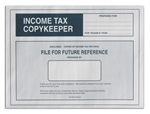 CL-205 NO IMPRINTING Income Tax CopyKeeper - 9 x 12 WHITE