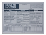 Income Tax DataKeeper File Envelope (CL-207-IMP) IMPRINTED