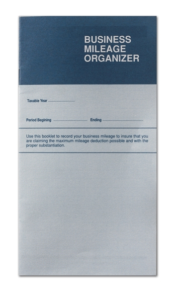Business Mileage Organizer - Pocket Size