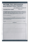CS-125-IMP IMPRINTED Income Tax Organizer Booklet ENLARGED/22 PAGES (Includes CS-108 Mailing Envelopes)