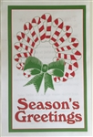 Holiday Insert 3 - Wreath/Seasons Greetings
