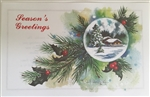 Holiday Insert 4 - Holiday Scene/Seasons Greetings