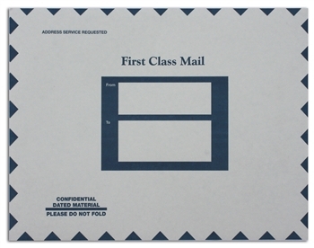 LB-303 NO IMPRINTING Labelope - Quick Label Envelopes 10 x 13